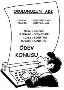 Beden eğitimi performans ödevi kapakları