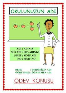 Türkçe edebiyat performans ödevi kapakları